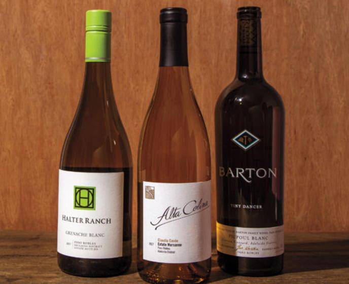 Five Paso Robles Producers Bringing Out the Best in White Blends