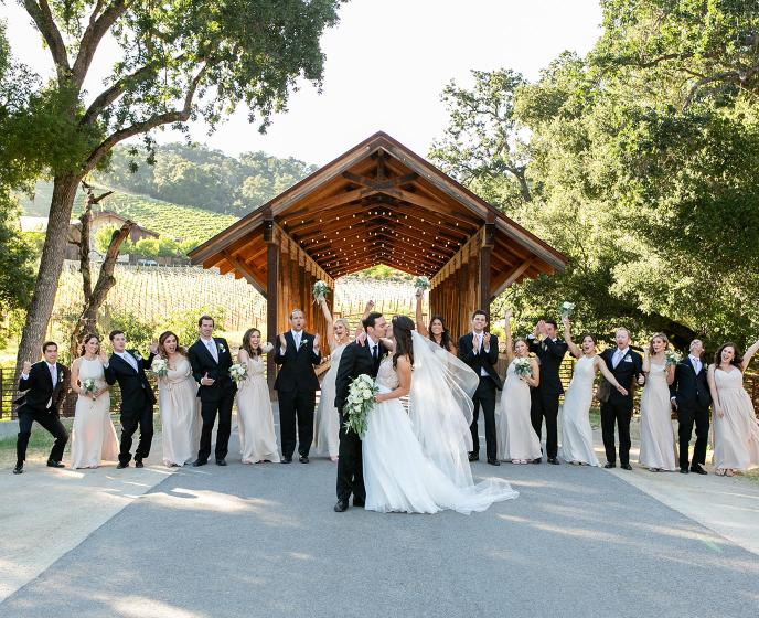 Caroline + Tony: A June Wedding Full of Love and Sunshine