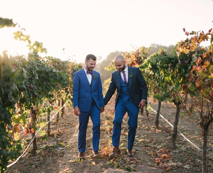 A wonderful wine country wedding