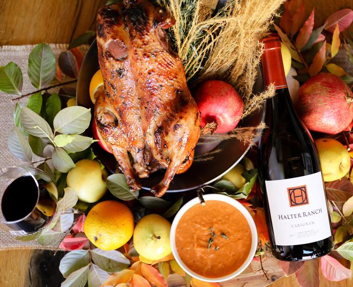 2018 Rosé and 2017 Carignan Thanksgiving Recipe Pairings